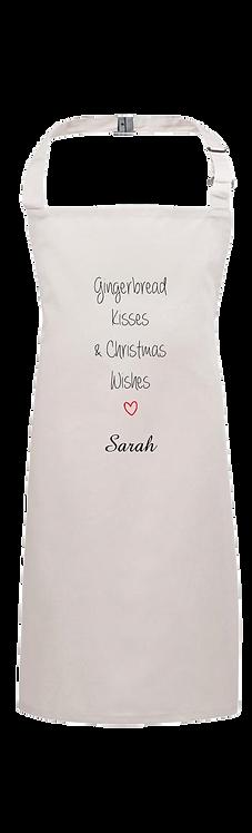 Christmas Apron Christmas Wishes Design