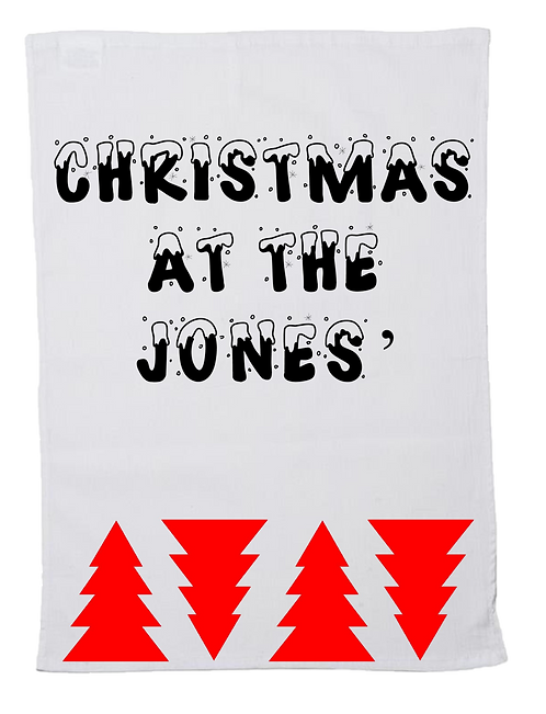 Christmas Tea Towel Christmas At The Design