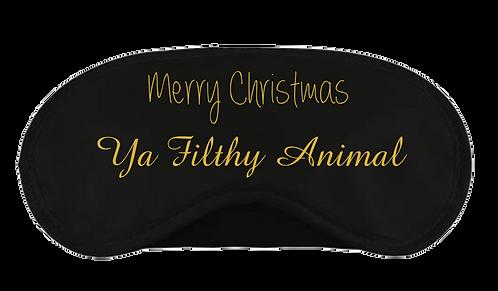 Christmas Eye Mask Ya Filthy Animal Design