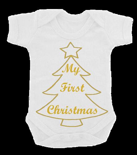 My 1st Christmas Vest
