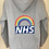Thumbnail: NHS Women's Zip Up Hoodie