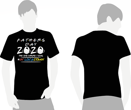 Friends Lockdown Fathers T-Shirt