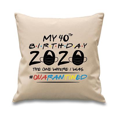 Friends Quarantine Birthday Cushion Cover