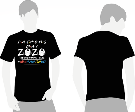 Friends Quarantine Fathers T-Shirt