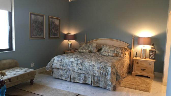 I - King Bed in Master Bedroom