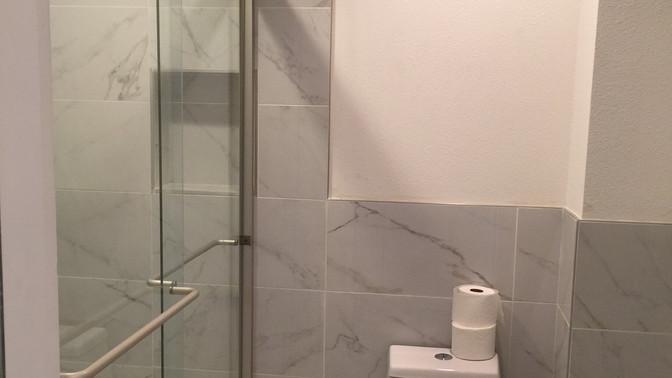 L - Private Master Bathroom space