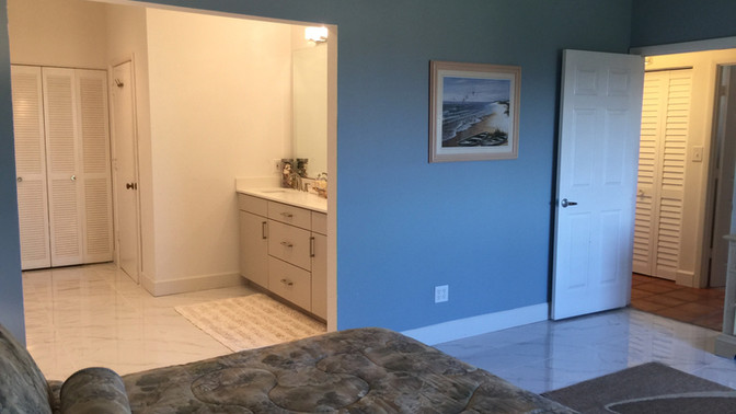 H - Large Master Bedroom Area