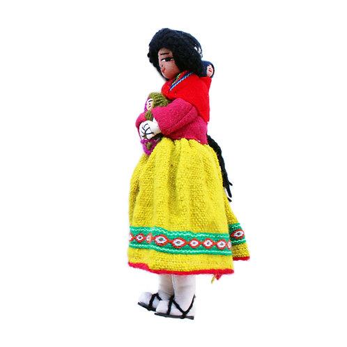 BOLIVIANA COM BEBÊS