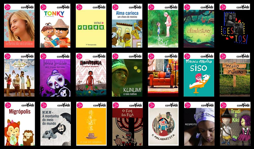 cinema alternativo para crianças