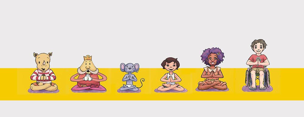yoga para crianças tv cultura