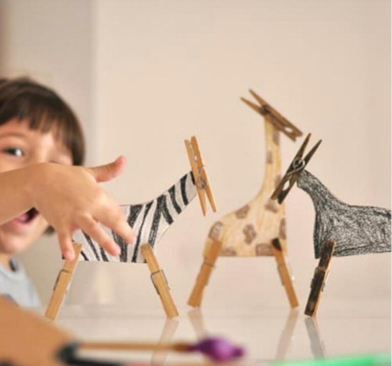 atividades infantis diy faça você mesmo brincar em casa com Estefi Machado