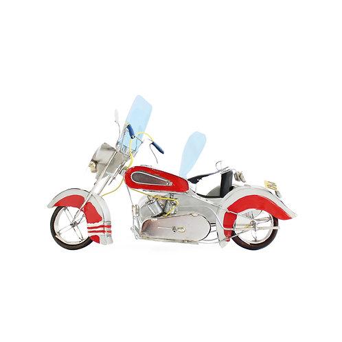 Milton Cruz | motocicleta com sidecar