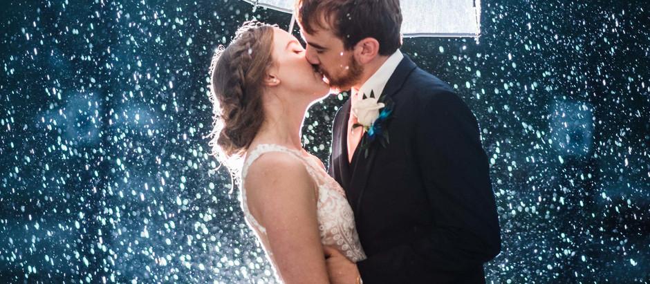 Quando chove: Fotos lindas de Casamento