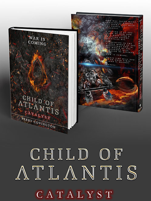 Child Of Atlantis: Catalyst (SIGNED COPY)