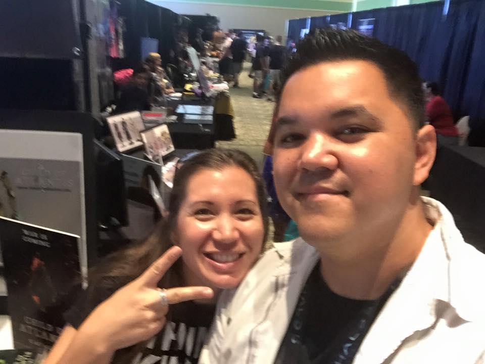 NerdCon 2015 with my beautiful wife