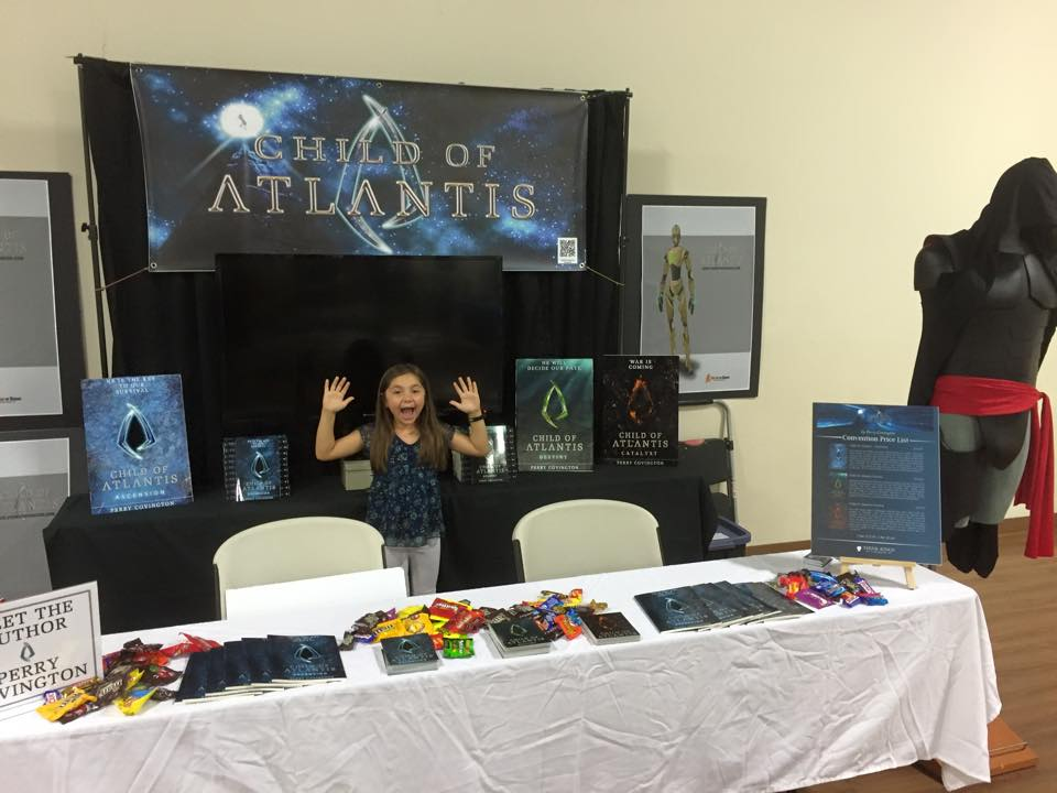 SoCal Comic Con Booth