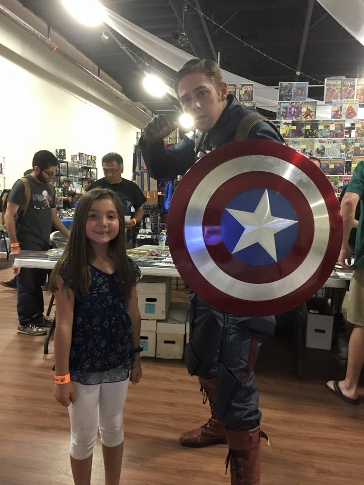 SoCal Comic Con Captain America