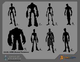 Sketch Auggie Body Types