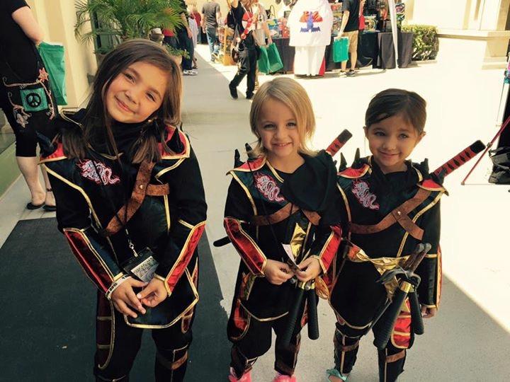 NerdCon 2015 my little ninjas