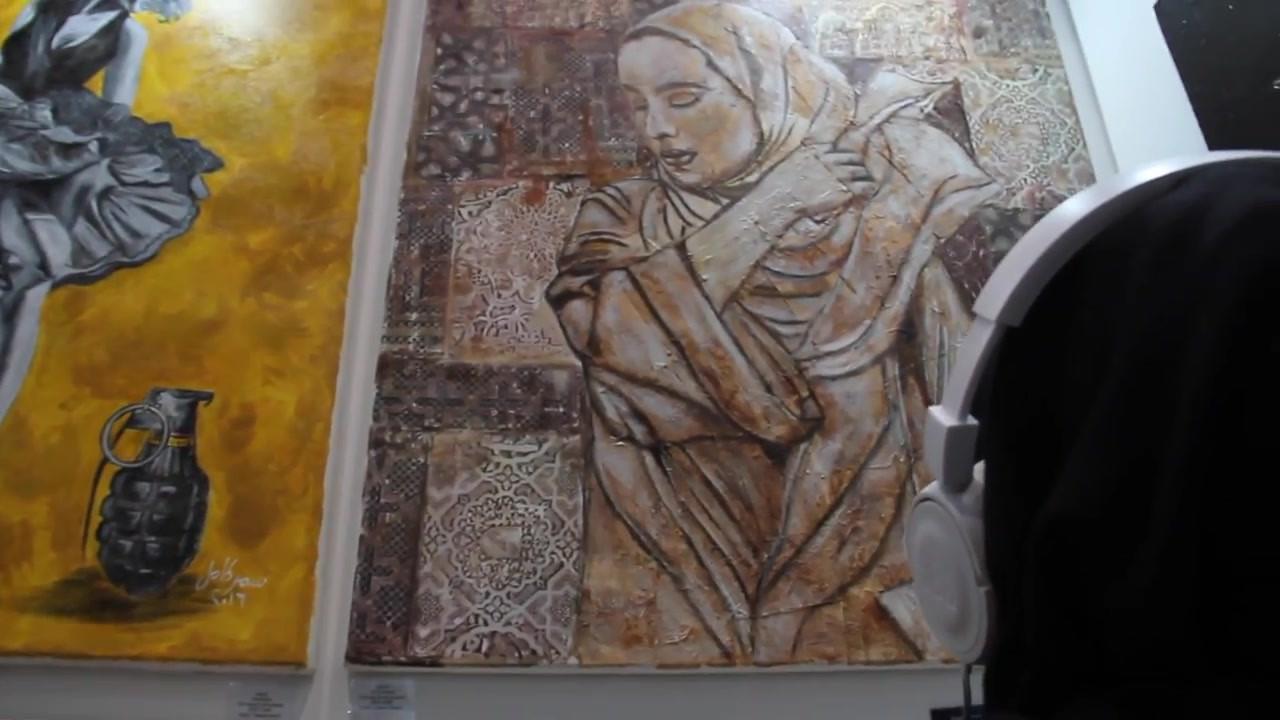 Samar Kamel, Tea Bag Art