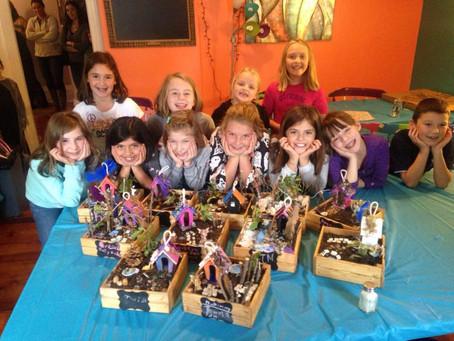Fairy Garden Birthday Party!