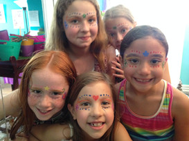 Painted Fairy Faces!