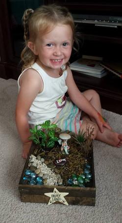 Cutie Fairy Garden