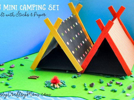 5 Great DIY's for Your Camping Themed-Fairy Garden