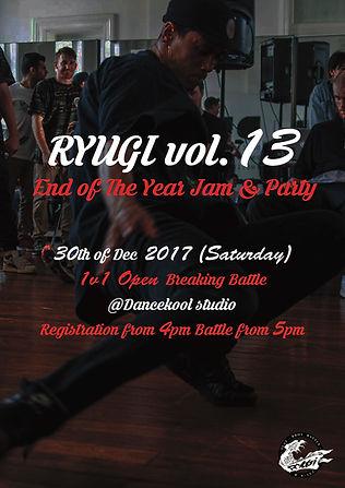Ryugi vol.13 Flyer front.jpg
