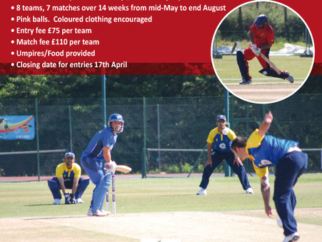 New midweek Twenty20 summer league at Kempton Cricket Club