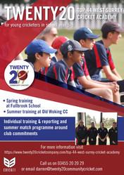 Top 44 West Surrey Cricket Academy