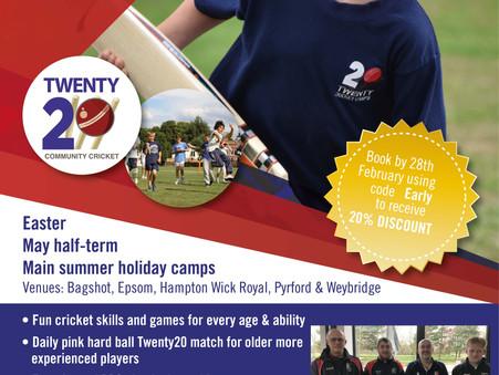 Easter & Summer Cricket Camps in Surrey
