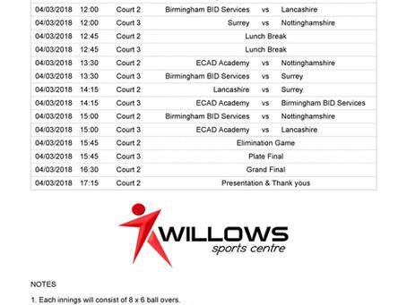2018 ECAD Indoor Deaf Tournament fixtures announced