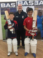 BAS sponsored Twenty20 Cricket Academy players
