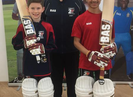 Twenty20 Surrey Performance Academy players sponsored by BAS-Vampire