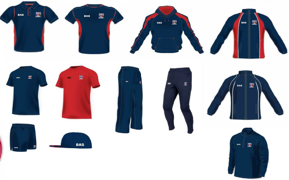 BAS Twenty20 Cricket Clothing Range
