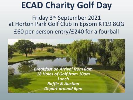 ECAD Golf Day - 3rd September 2021