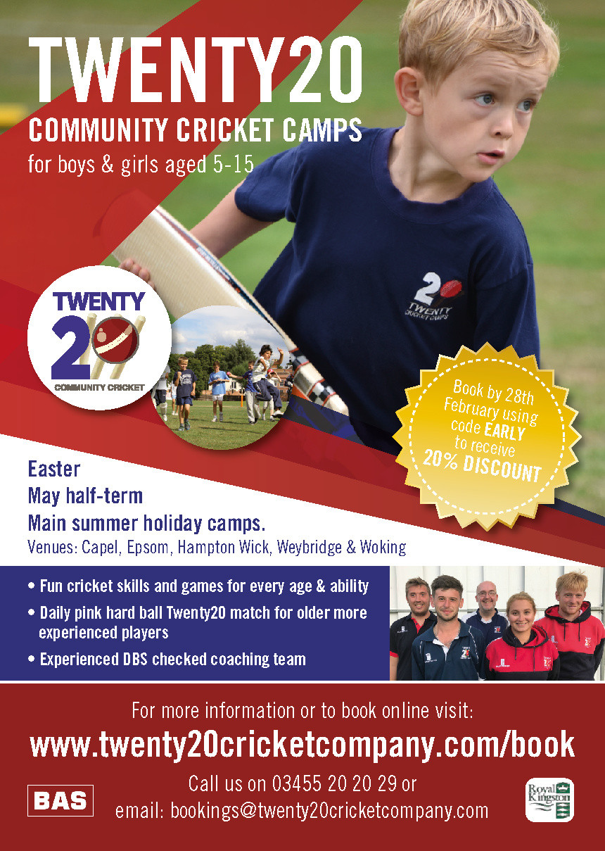 Twenty20 Cricket School Holiday Course