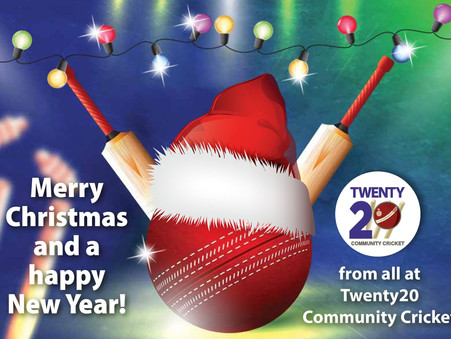 Merry Christmas from all of us at Twenty20 Community Cricket