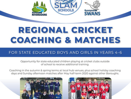 Surrey Slam Schools 2019-20 - Are you in yet?