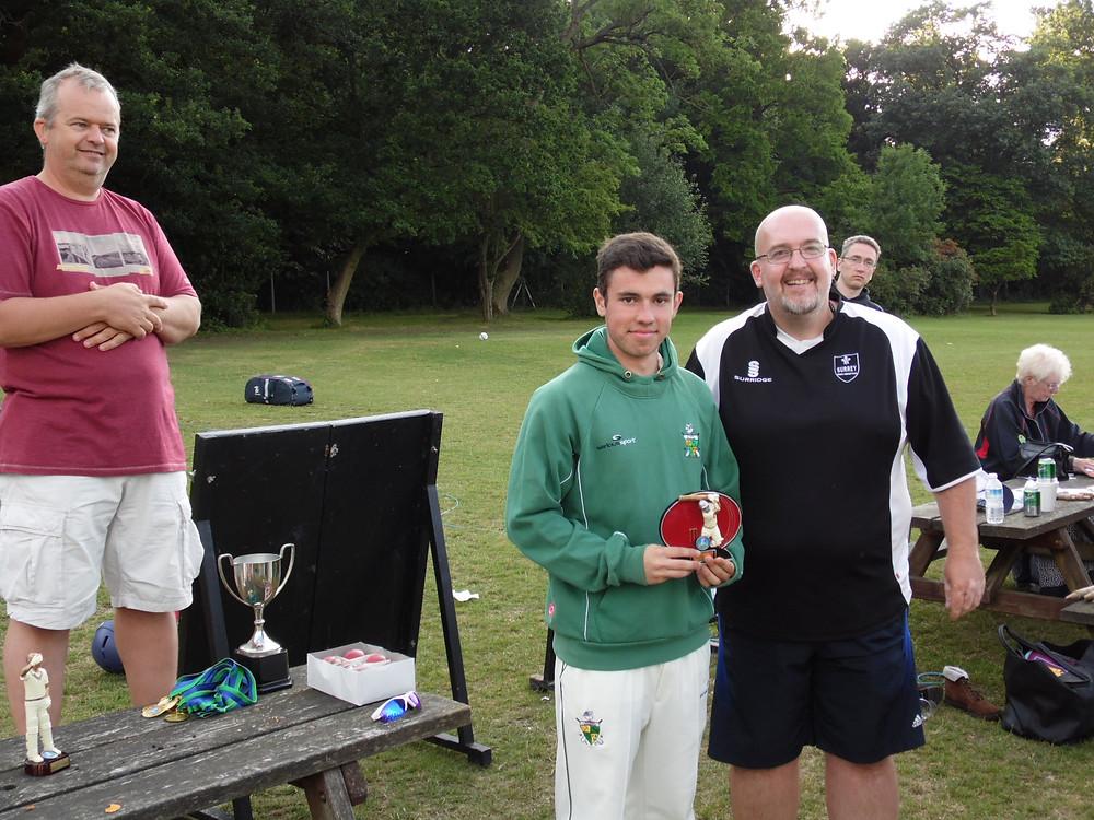 Will Cuthbert Surrey Deaf Cricket