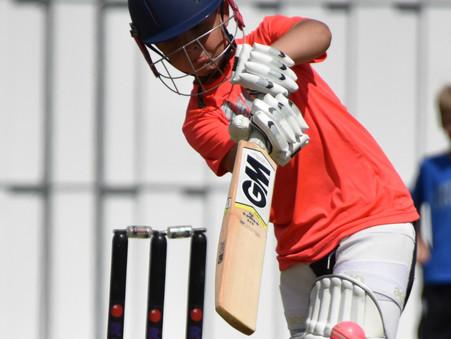 Junior cricket still in full flow this winter!