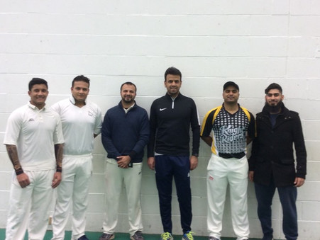 Surrey Indoor Cricket League:  Quarter Finals at Downsend School