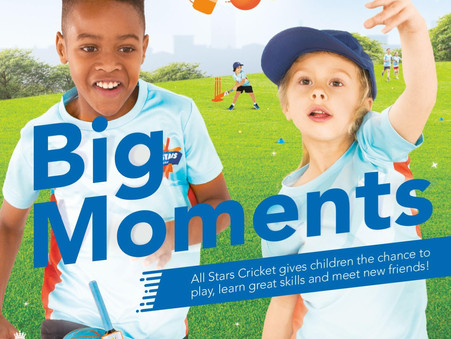 All Stars and under 9 league cricket coming to Old Woking
