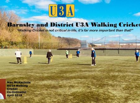 Walking Cricket flourishing in Barnsley