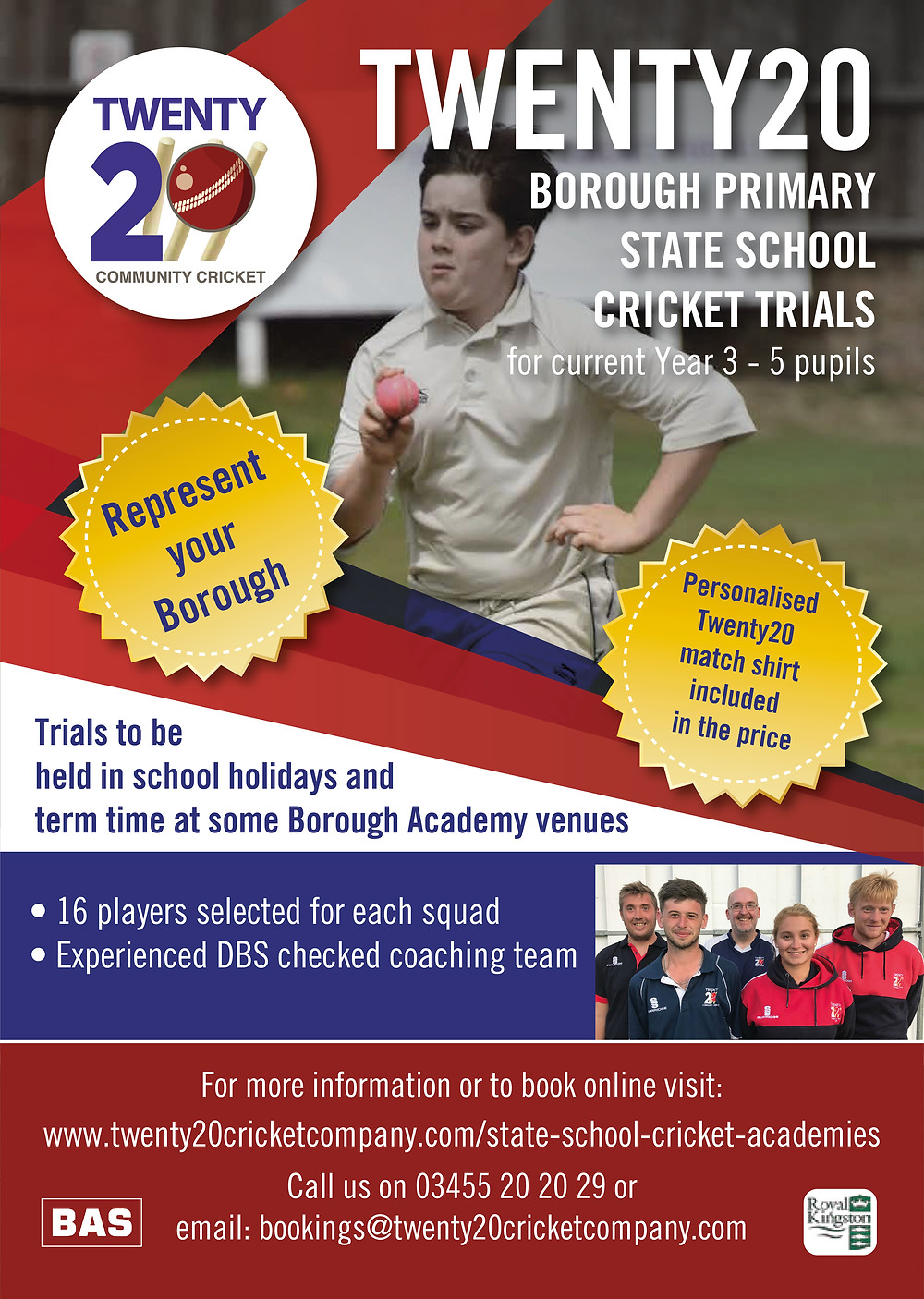 Easter Cricket Camps & Courses Surrey