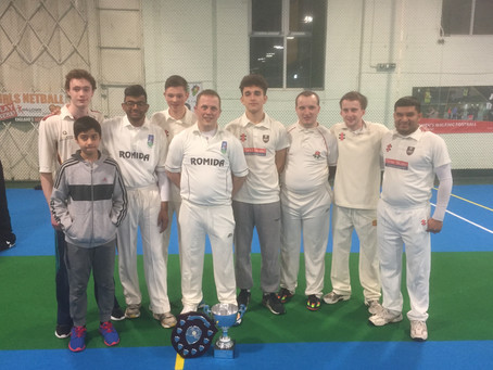 Academy youngsters shock favourites to take ECAD Indoor National title