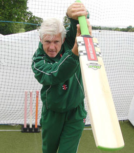 Gary Palmer batting course exclusively with Twenty20 Community Cricket