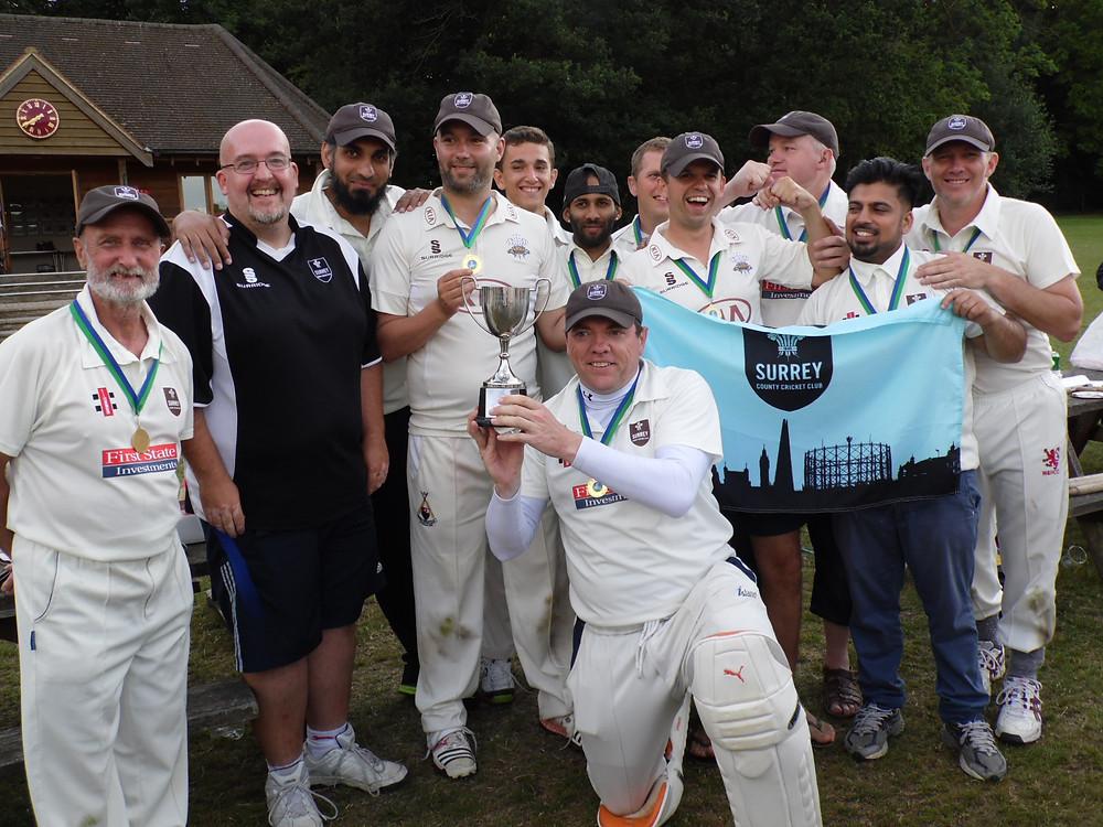 Surrey Brown Caps Deaf Cricket team