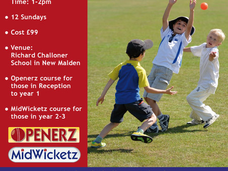 Continue your cricket this winter with Twenty20 Community Cricket